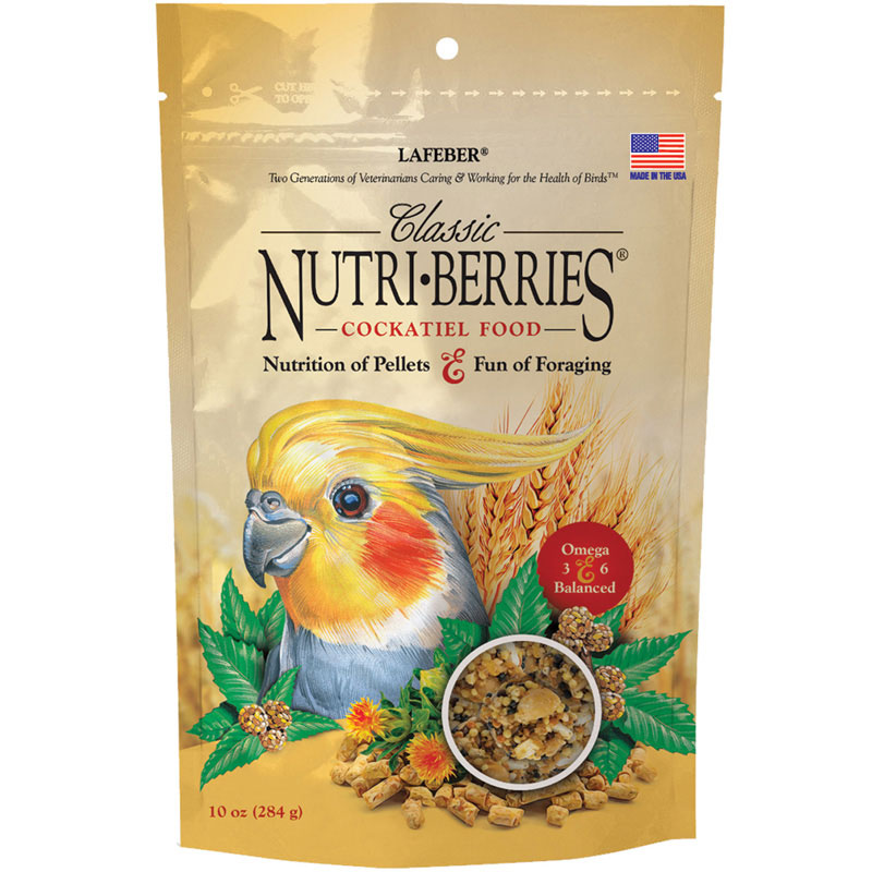 Cockatiel Classic Nutri-Berries