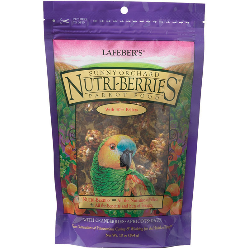 parrot Sunny Orchard Nutri-berries
