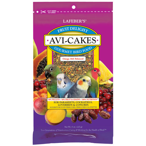 Fruit Delight Avi-Cakes for Small Birds