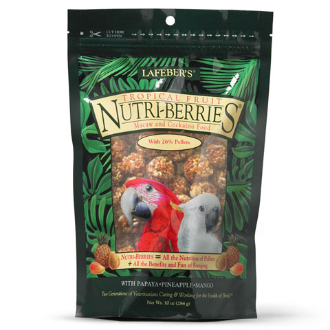 Tropical Fruit Nutri-Berries for Macaws